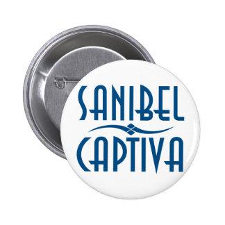 Sanibel Captiva Islands Florida Pinback Buttons