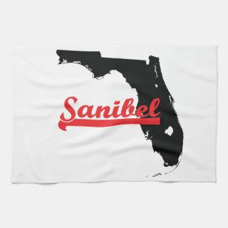 sanibel Florida Tea Towel