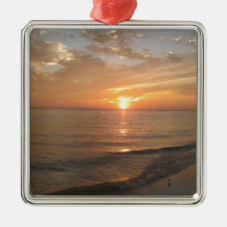 Sanibel Island, FL Metal Ornament