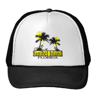 Sanibel Island Florida palm tree hat