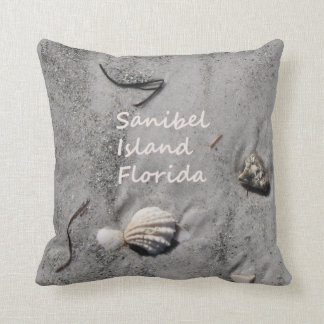Sanibel Island Florida sand shells Cushion