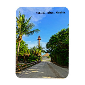 Sanibel Island Lighthouse Florida Gulf Coast Magnet