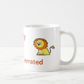 Sanity is overrated coffee mug