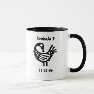 sankofa anniversary mug