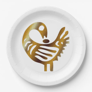 Sankofa BHM Party Paper Plates