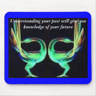 Sankofa birds mouse pad