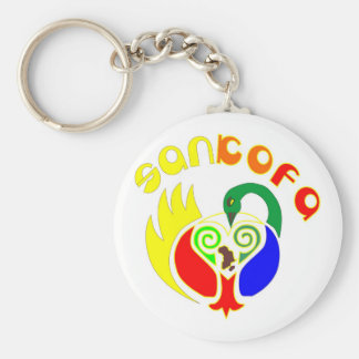 SANKOFA KEY RING
