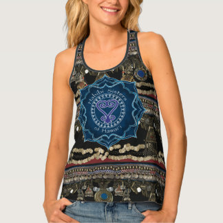 Sankofa Kuchi Belly Dance Tank Top