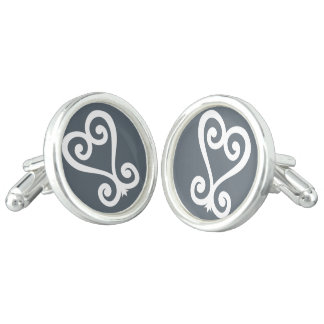 Sankofa | Return and get it - Adinkra Symbol Cuff Links