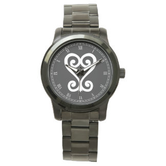 Sankofa | Return and get it - Adinkra Symbol Wristwatch