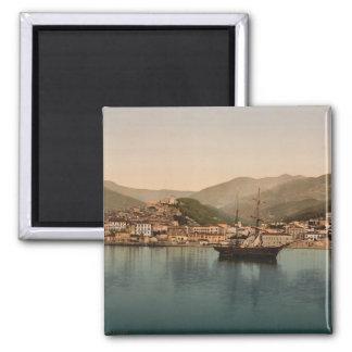 Sanremo Harbour I, Liguria, Italy Magnet