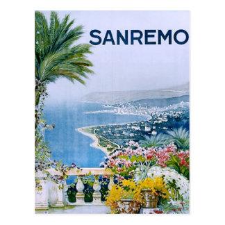 Sanremo, Italy Postcard