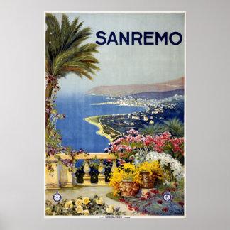 Sanremo Poster