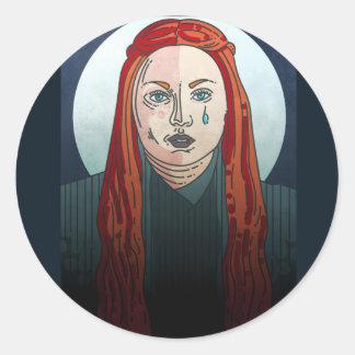 Sansa Stark Game of Thrones Classic Round Sticker