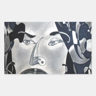 Sansonetti Man (1977) Rectangular Sticker