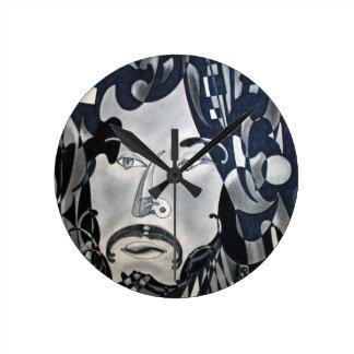 Sansonetti Man (1977) Round Clock