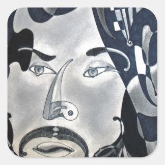 Sansonetti Man (1977) Square Sticker