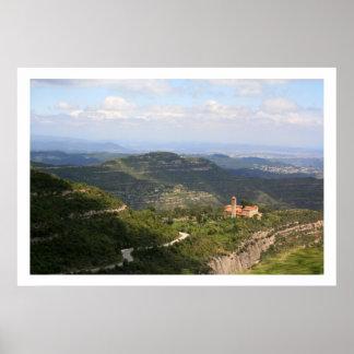 Sant Benet de Montserrat Poster