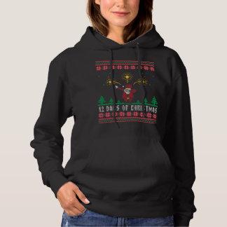 Santa 12 Dabs of Christmas Ugly Xmas Sweater