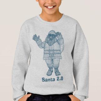 Santa 2.0 Vector Graphic Sweatshirt