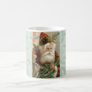 Santa - A Merry Christmas Basic White Mug