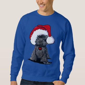 Santa Affenpinscher Sweatshirt