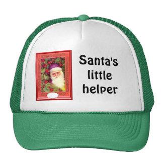 Santa among the berries cap