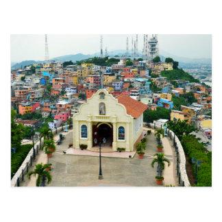 Santa Ana Chapel, Guayaquil, Ecuador Postcard