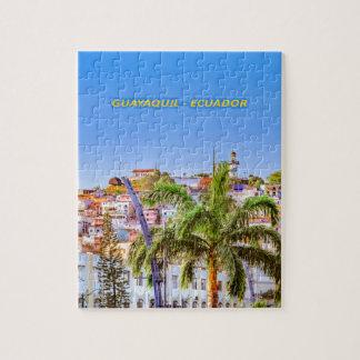 Santa Ana Hill, Guayaquil Poster Print Jigsaw Puzzle