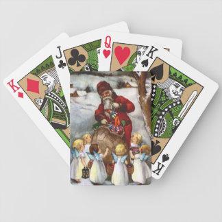 SANTA AND ANGELS CARDS