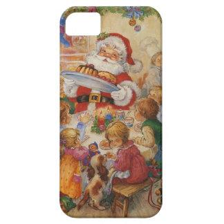 Santa and Children iPhone 5 Case