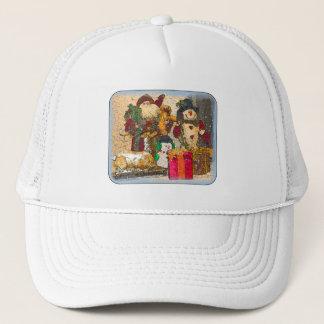 SANTA AND FRIENDS TRUCKER HAT