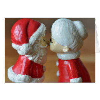 Santa and Mrs Claus Card