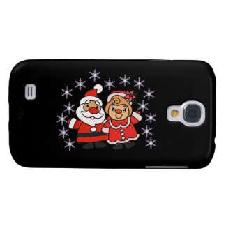 Santa and Mrs Claus Galaxy S4 Cover
