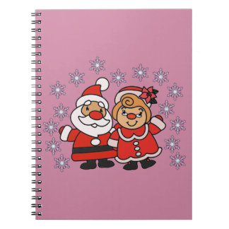 Santa and Mrs Claus Notebook