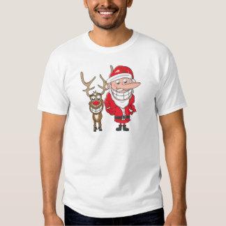 Santa and Reindeer Shirt