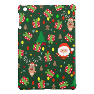 Santa and Rudolph pattern iPad Mini Cases