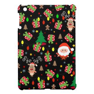 Santa and Rudolph pattern iPad Mini Covers