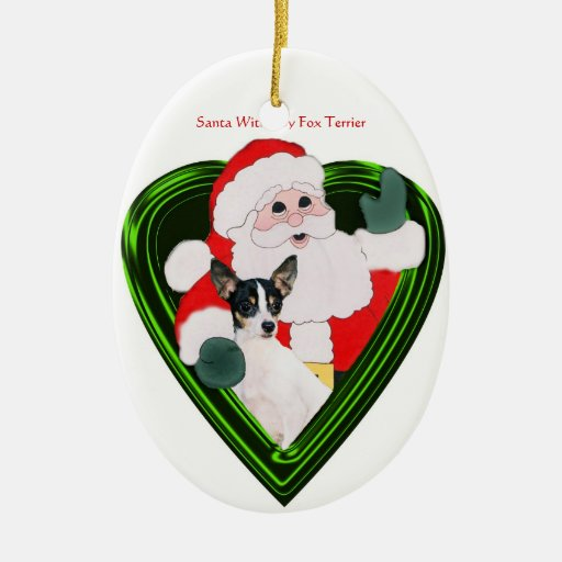 Santa And TFT Oval Ornament