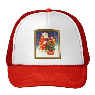 Santa and the Matryoshka Hat