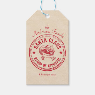 Santa Approved - Personalise It - Funny Gift Tags