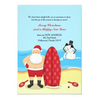 Santa at the Beach Moving Announcement