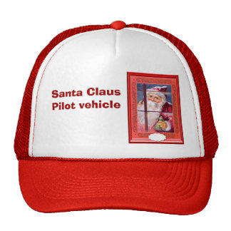Santa at the window cap