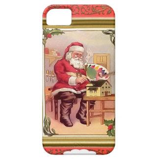 Santa at work iPhone 5 cases