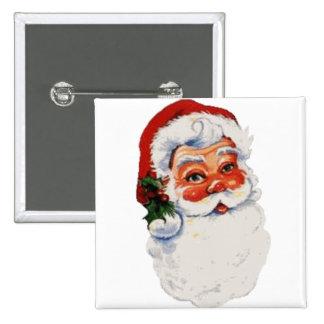 Santa baby! 15 cm square badge