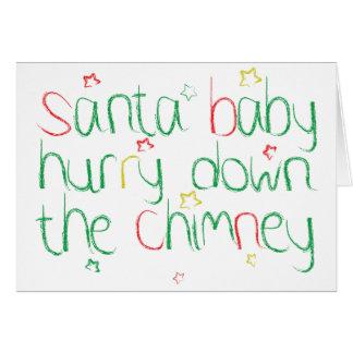 Santa Baby ... Christmas Card