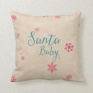 santa baby cushion
