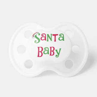 Santa Baby Pacifier
