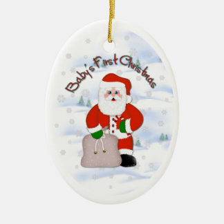 Santa Baby s First Christmas Ornament
