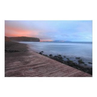 Santa Barbara beach Customised Stationery